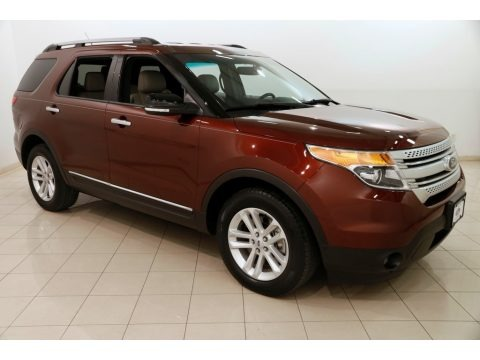 Bronze Fire 2015 Ford Explorer XLT