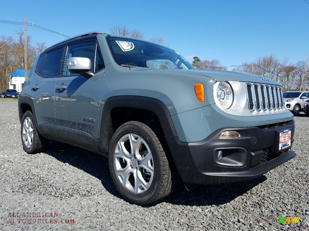 2018 jeep renegade limited 4x4 in anvil for sale h06547. Black Bedroom Furniture Sets. Home Design Ideas