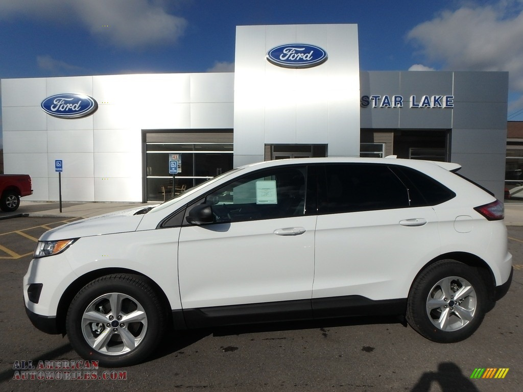2018 Edge SE AWD - Oxford White / Ebony photo #1
