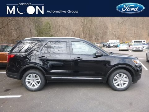 Shadow Black 2018 Ford Explorer XLT 4WD