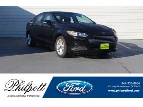 Shadow Black 2016 Ford Fusion SE