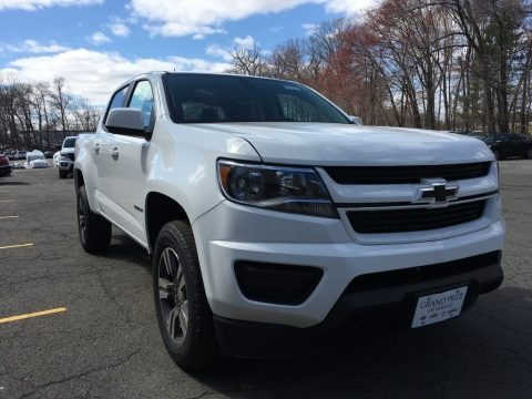 Summit White 2018 Chevrolet Colorado WT Crew Cab 4x4