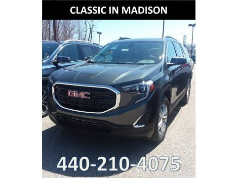 Graphite Gray Metallic 2018 GMC Terrain SLE