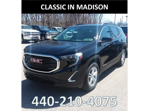 Ebony Twilight Metallic 2018 GMC Terrain SLE