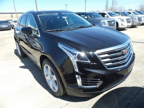 Stellar Black Metallic 2018 Cadillac XT5 Luxury AWD