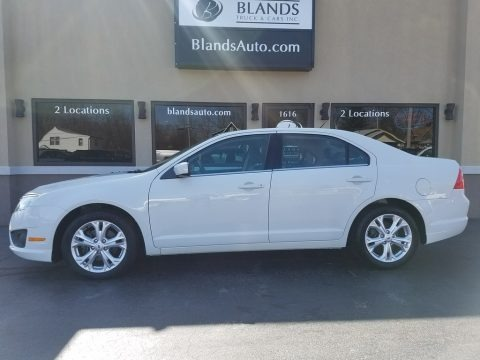 White Suede 2012 Ford Fusion SE