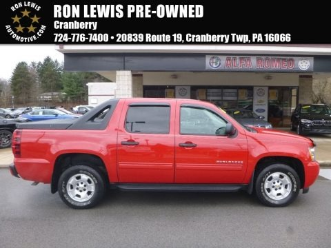 Victory Red 2010 Chevrolet Avalanche LS 4x4