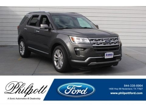 Magnetic Metallic 2018 Ford Explorer Limited