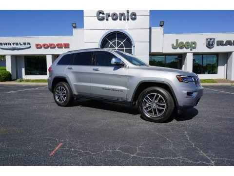 Billet Silver Metallic 2018 Jeep Grand Cherokee Limited