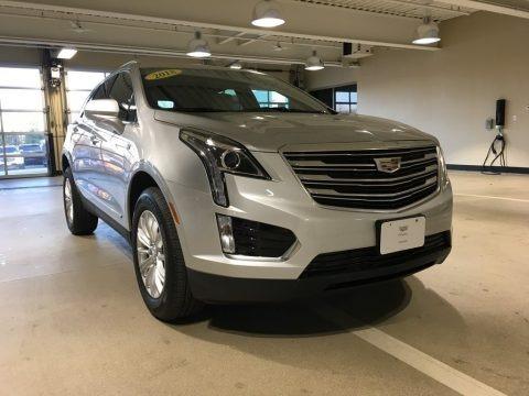 Crystal White Tricoat 2018 Cadillac XT5 AWD