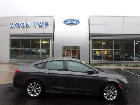 Black 2015 Chrysler 200 S