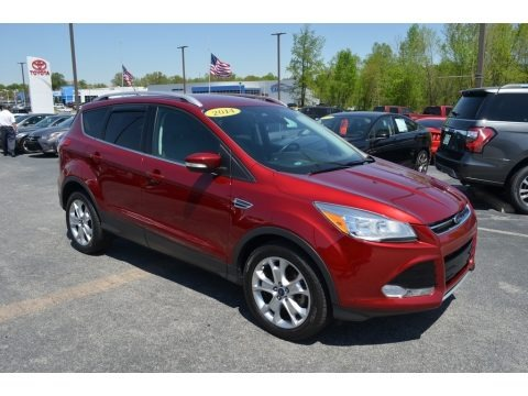 Ruby Red 2014 Ford Escape Titanium 1.6L EcoBoost