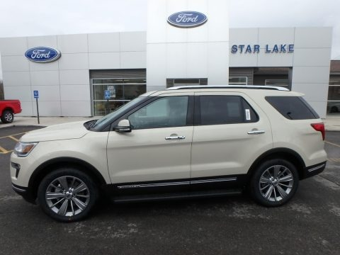 Platinum Dune 2018 Ford Explorer Limited 4WD