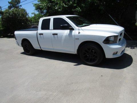 Bright White 2012 Dodge Ram 1500 Express Quad Cab