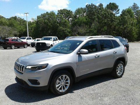 Billet Silver Metallic 2019 Jeep Cherokee Latitude