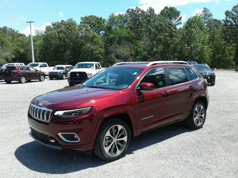 Velvet Red Pearl 2019 Jeep Cherokee Overland