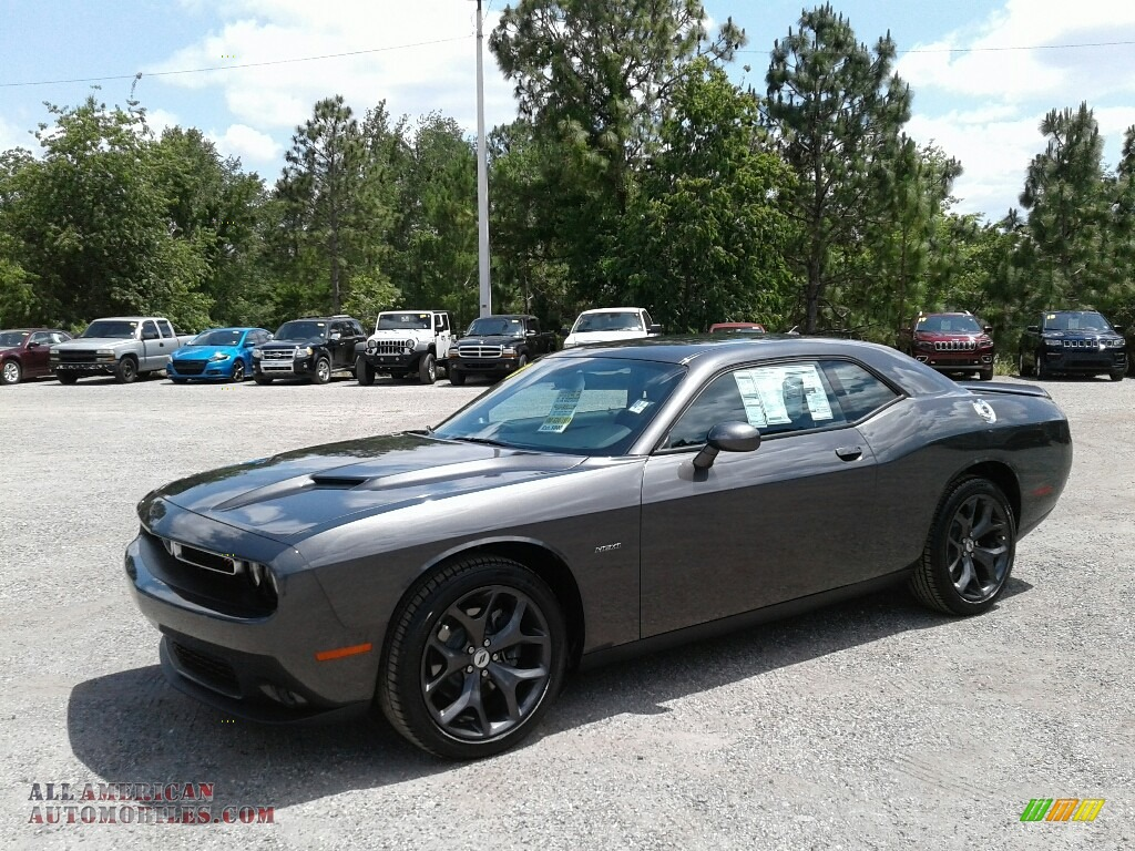 2018 Challenger Rt >> 2018 Dodge Challenger R/T Plus in Granite - 246771 | All American Automobiles - Buy American ...