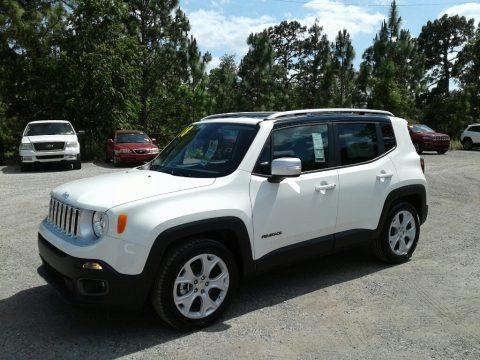 Alpine White 2018 Jeep Renegade Limited