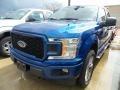 Ford F150 XLT SuperCrew 4x4 Lightning Blue photo #1