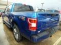 Ford F150 XLT SuperCrew 4x4 Lightning Blue photo #3