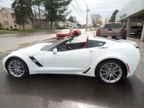 Arctic White 2019 Chevrolet Corvette Grand Sport Coupe