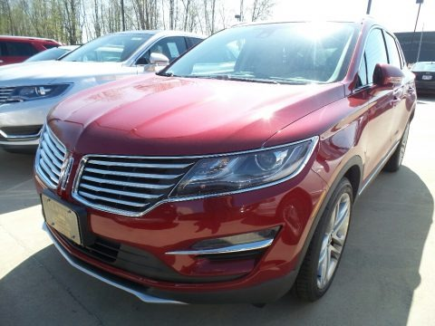 Ruby Red 2018 Lincoln MKC Reserve AWD