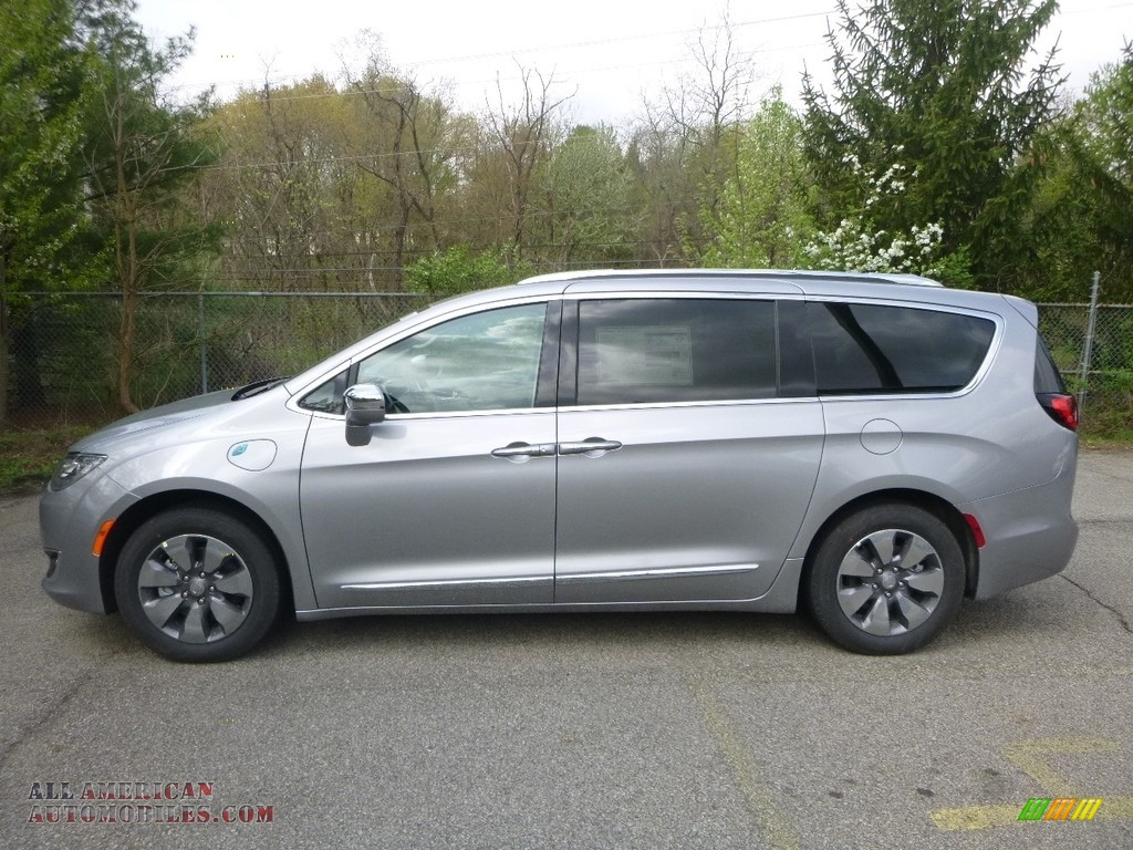 2018 Pacifica Hybrid Limited - Billet Silver Metallic / Black/Diesel photo #2