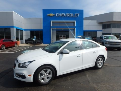 Summit White 2016 Chevrolet Cruze Limited LT