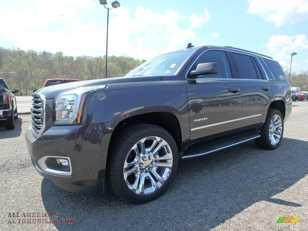 Iridium Metallic / Jet Black GMC Yukon SLT 4WD