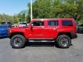 Hummer H3 X Victory Red photo #2