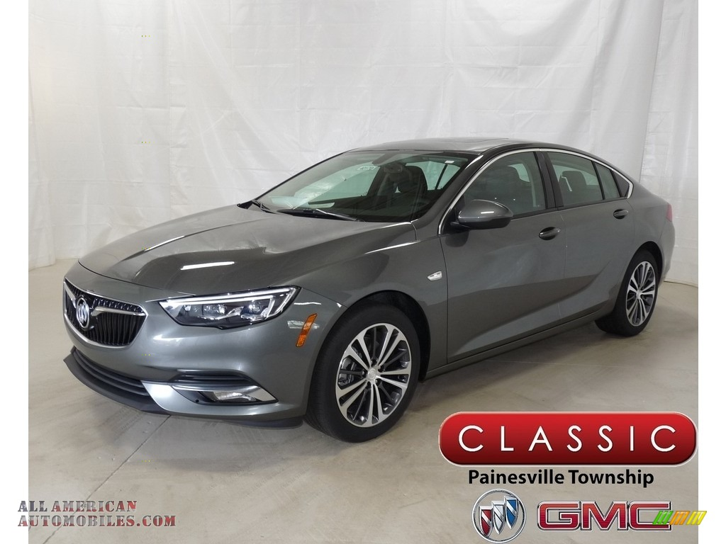 Smoked Pearl Metallic / Ebony Buick Regal Sportback Preferred AWD