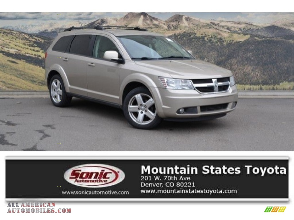 2009 Journey SXT AWD - Light Sandstone Metallic / Pastel Pebble Beige photo #1