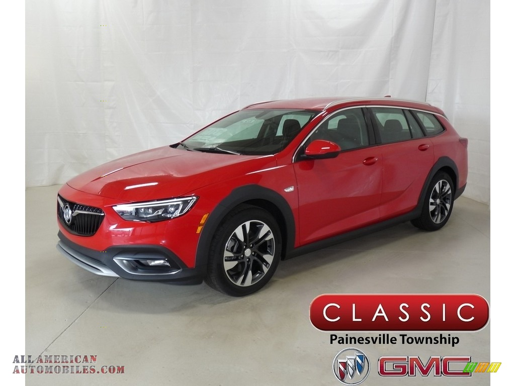 2018 Regal TourX Preferred AWD - Sport Red / Ebony photo #1