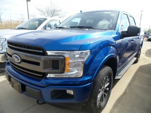 Lightning Blue 2018 Ford F150 XLT SuperCrew 4x4