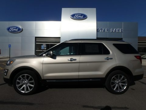 White Gold 2017 Ford Explorer Limited 4WD