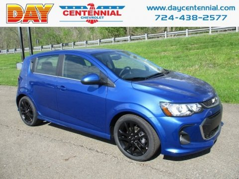 Kinetic Blue Metallic 2018 Chevrolet Sonic LT Hatchback