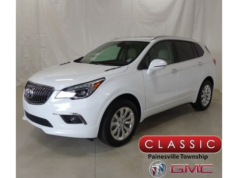 Summit White 2018 Buick Envision Essence AWD