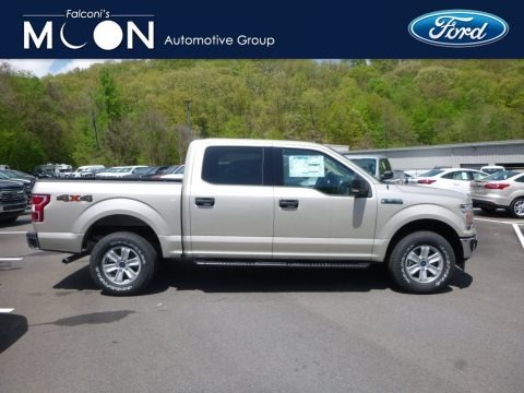 White Gold 2018 Ford F150 XLT SuperCrew 4x4