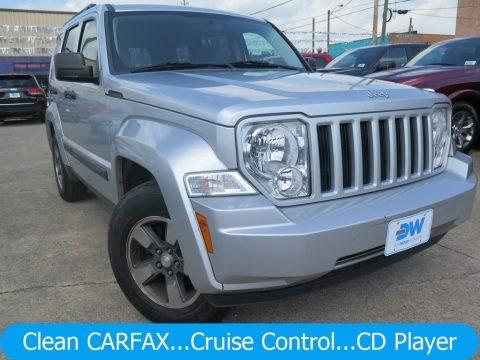 Bright Silver Metallic 2008 Jeep Liberty Sport 4x4