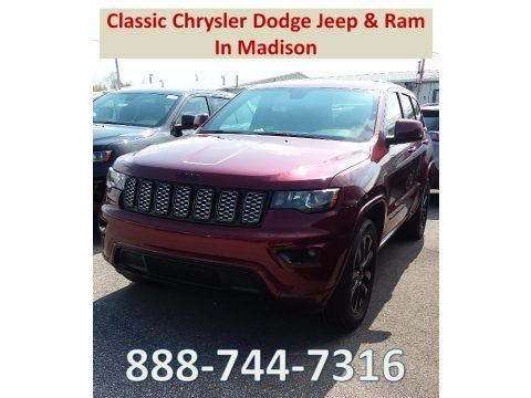 Velvet Red Pearl 2018 Jeep Grand Cherokee Altitude 4x4