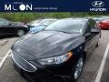 Ford Fusion Hybrid SE Shadow Black photo #1