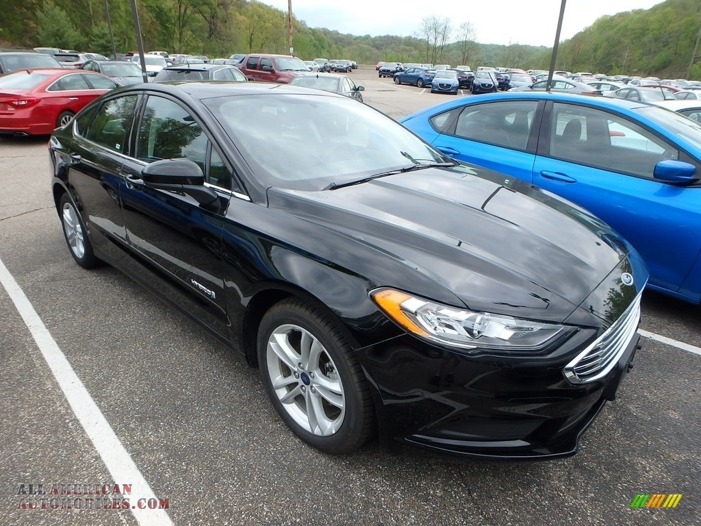 2018 Fusion Hybrid SE - Shadow Black / Ebony photo #5