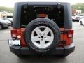 Jeep Wrangler Unlimited X 4x4 Sunburst Orange Pearl photo #4