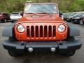 Jeep Wrangler Unlimited X 4x4 Sunburst Orange Pearl photo #10