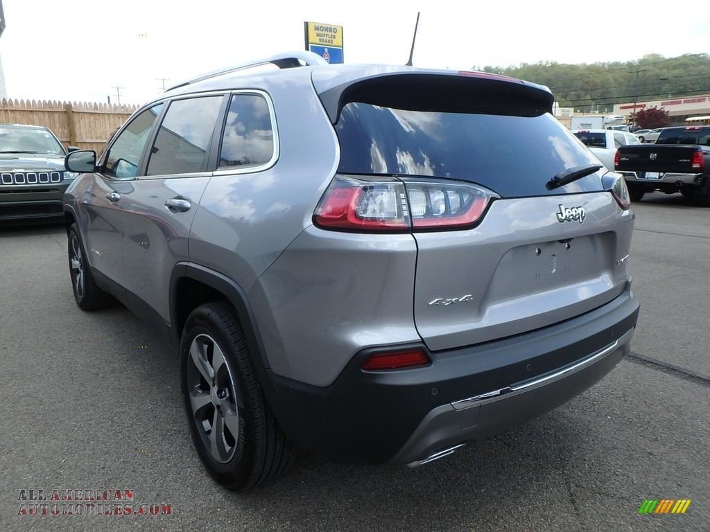 2019 Cherokee Limited 4x4 - Billet Silver Metallic / Black photo #5