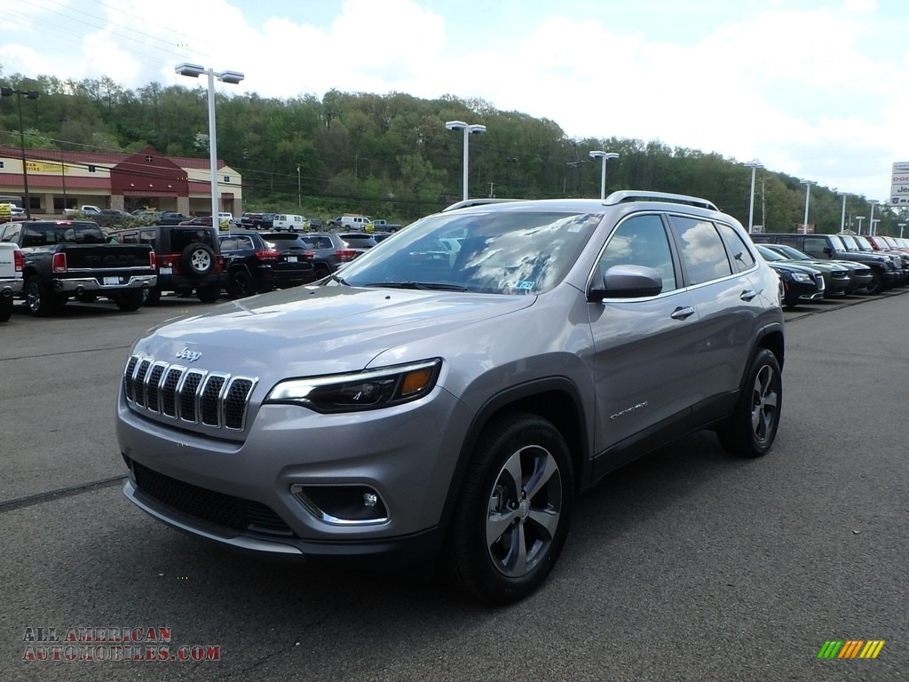 2019 Cherokee Limited 4x4 - Billet Silver Metallic / Black photo #7