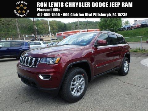 Velvet Red Pearl 2018 Jeep Grand Cherokee Laredo 4x4