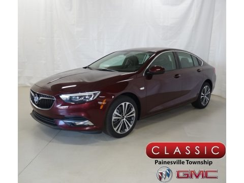 Rioja Red Metallic 2018 Buick Regal Sportback Preferred