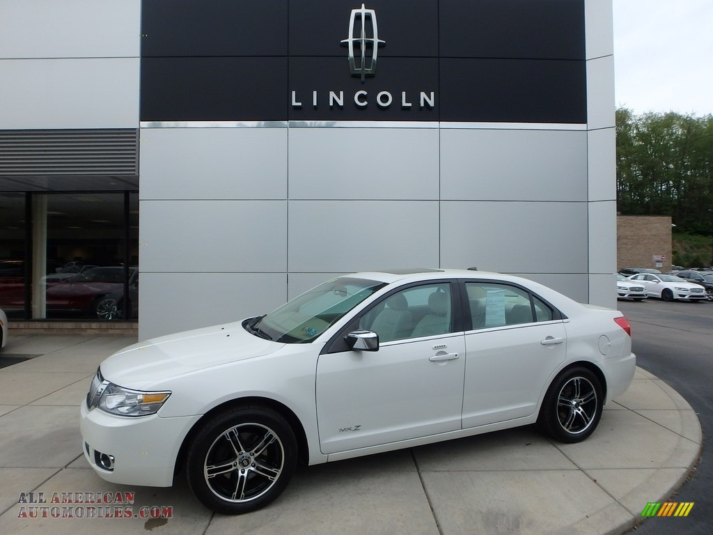 White Suede / Sand Lincoln MKZ AWD Sedan