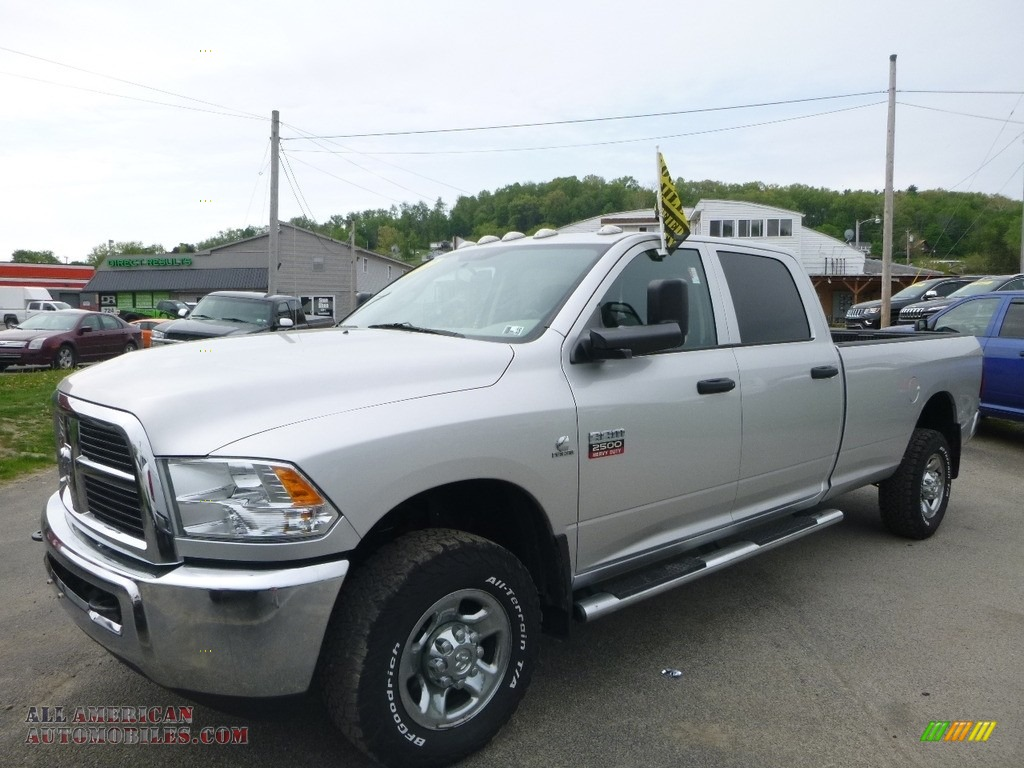 2012 Ram 2500 HD ST Crew Cab 4x4 - Bright Silver Metallic / Dark Slate/Medium Graystone photo #1
